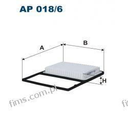 AP018/6 Filtr powietrza DAIHATSU MATERIA 1.3-1.5 10/06-, TERIOS 1.5 11/05-