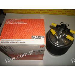 KL440/18 KNECHT Filtr paliwa NISSAN QASHQAI/X-TRAIL 1.5/2.0dCi 02/07- (bez czujnika wody); RENAULT KOLEOS 2.0dCi 02/08- 16400JY09D  16400JD50A  WK920/7 PP857/5