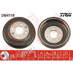 DB4118 TRW BĘBEN HAMULC. ROVER 200 400  89-00 (-ABS)  ROVER 25 45  EGP1358  GDB114  14677910