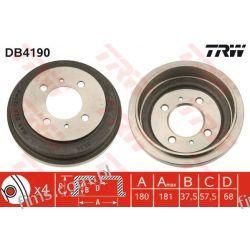 DB4190 TRW BĘBEN HAMULC. NISSAN ALMERA 95-00 4320650Y10