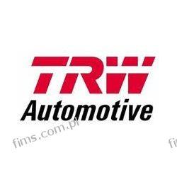 DF6504 TRW TARCZA HAMULC. VW GOLF VII 12- TYŁ  3Q0615601  18319   Iskrowe
