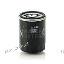 W610/1 MANN FILTR OLEJU SEDICI JUSTY IGNIS SX4 SWIFT  OP621  OC217  10F8002  0451103276