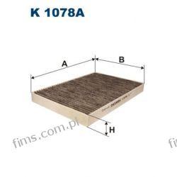 K1078A FILTRON FILTR POWIETRZA KABINOWY AUDI A4 A6  8E0819439C  K1078A  LAK93   F502701  CUK3037