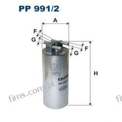 PP991/2 FILTRON FILTR PALIWA AUDI A6 2.7 3.0TDI  4F0127401H  PP991/2  KL659  WK7002