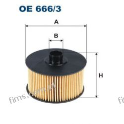 OE666/3 FILTRON FILTR OLEJU RENAULT DACIA  152095084R  2001800009  1520800Q1E  L441  OX968D