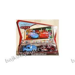 ZYGZAK McQUEEN & SALLY z bajki CARS produkcji DISNEY PIXAR firmy MATTEL