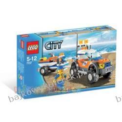7737 - LEGO CITY - SAMOCHÓD TERENOWY I SKUTER STRAŻY NADBRZEŻNEJ