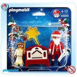 PLAYMOBIL 4889 Święta - ANIOŁ ZE ŚWIĘTYM MIKOŁAJEM I KATARYNKĄ
