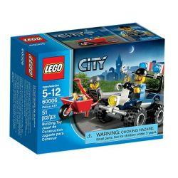 LEGO CITY 60006 - QUAD POLICYJNY