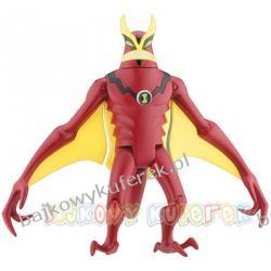 BEN 10 ALIEN FORCE - JET RAY firmy BANDAI 27434, 10cm