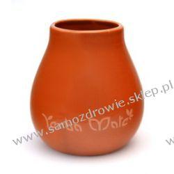 Matero Ceramiczne Calabaza 6 z logo yerba mate Preparaty