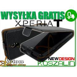 Etui futerał kabura Sony Xperia T Lt30p +Folia LCD