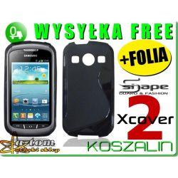 Etui futerał guma Samsung Galaxy Xcover 2 S7710