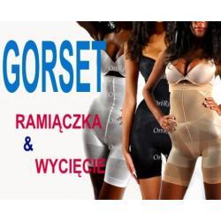 GORSET SLIM LIFT wyszczuplajacy Ram.+Wycięcie S