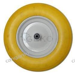 71023 Koło do taczki 4.00-8 pełne (żółte-3,25kg)