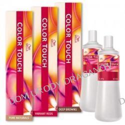 Wella Color Touch, zestaw do koloryzacji: krem tonujący bez amoniaku 60ml + emulsja utleniająca 120ml