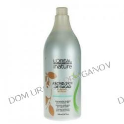 Loreal Serie Nature Abondance de Cacao, szampon do włosów cienkich i delikatnych, 1500ml