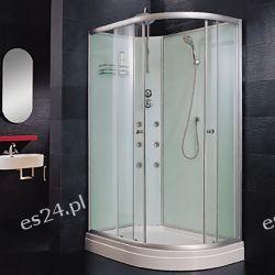 Poseidon 120/80cm przeszklona kompletna prawa Kabiny i brodziki