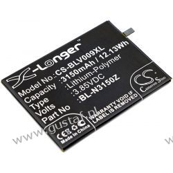 Blu V0070 / BL-N3150Z 3150mAh 12.13Wh Li-Polymer 3.85V (Cameron Sino) Telefony i Akcesoria