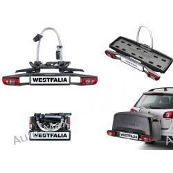 Westfalia - uchwyt na hak ze światłami, 2-3 rowery, uchylny, składany BC60