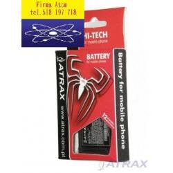Nowa Bateria Sony Ericsson K850 750mAh LI-ION C510
