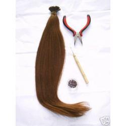 Zestaw do samodzielnego przedłużania włosów! Hit !
