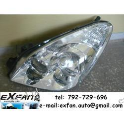 Toyota Corolla Verso lewa lampa reflektor przód