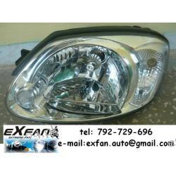 Hyundai Atos Getz lampa lewa + silniczek
