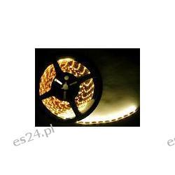 1 metr - TAŚMA LED 300 SMD 3528 12v ELASTYCZNA SAMOPRZYLEPNA - LISTWA - PASEK - BIAŁY CIEPŁY Lampy tylne