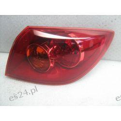 Mazda3 prawa kompletna lampa tył Oryginał Lampy tylne