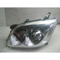 Toyota Avensis lewa lampa przód oryginał metalowy kielich