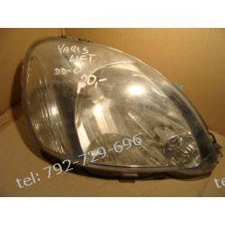 Toyota Yaris I lift lampa prawa przód