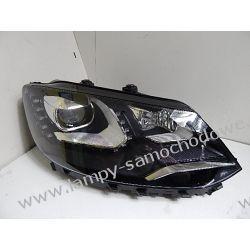 VW Sharan 7N0 7N1 prawa lampa bi-xenon LED skrętny