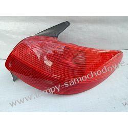Peugeot 206 prawa lampa tył Lampy tylne