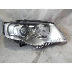 VW PASSAT B6 LIFT BI-XENON PRAWA LAMPA PRZÓD Lampy tylne