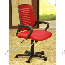 FOTEL brotowy do komputera RITA RED