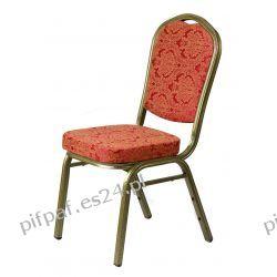 Krzesło bankietowe Gold Flowers
