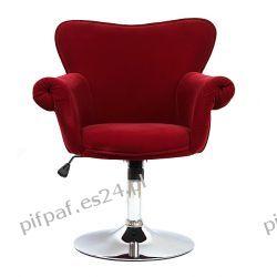 Fotel biurowy, Fotel obrotowy SAN DIEGO WINE RED