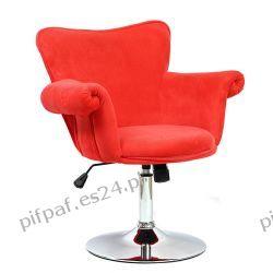 Fotel biurowy, Fotel obrotowy SAN DIEGO RED