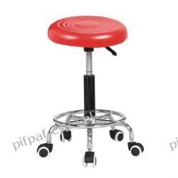 Hoker Barowy, stołek kuchenny Gabi Red