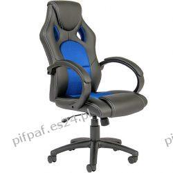 FOTEL biurowy obrotowy SPORT LINE - F16 Black/Blue