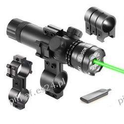 Laser, celownik laserowy zielony szyna 18-22 mm ASG