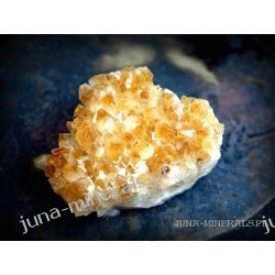 Szczotka - cytryn - 0,5 kg Skamieliny, minerały i muszle
