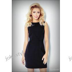 JOKASTYL Elegancka czarna sukienka L 40 Sukienki mini