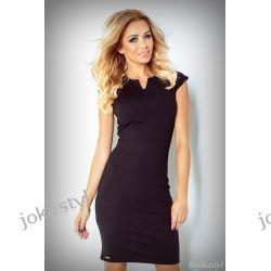 JOKASTYL OŁÓWKOWA sukienka czarna XL 42 Sukienki mini