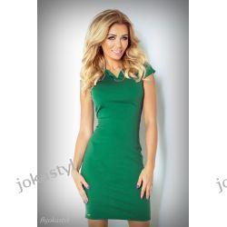 JOKASTYL OŁÓWKOWA sukienka Zielona S 36 Sukienki mini