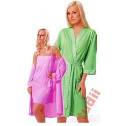 Italian Fashion Zorza szlafrok damski   L  bawełna