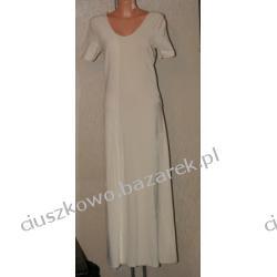 Biała sukienka długa na lato