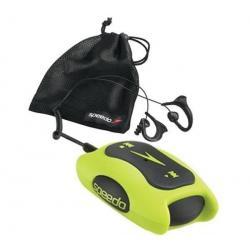 Odtwarzacz MP3 Speedo Aquabeat 1 GB limonkowy + Opaska na ramię na odtwarzacz MP3 Aquabeat + Słuchawki waterproof Flex All Sport...