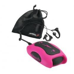 Odtwarzacz MP3 Speedo Aquabeat 1 GB różowy  + Opaska na ramię na odtwarzacz MP3 Aquabeat + Słuchawki waterproof Flex All Sport C...